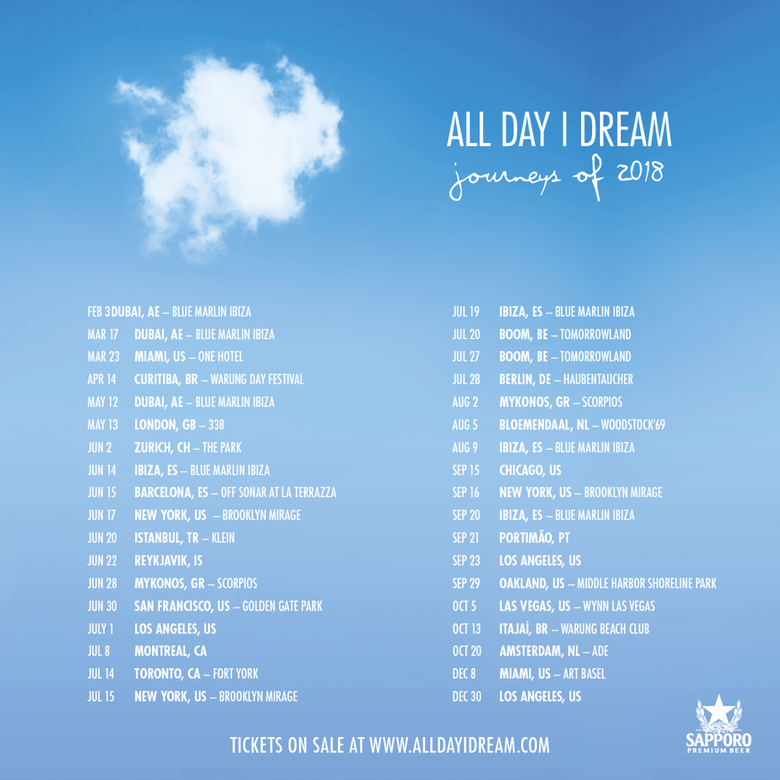 all day i dream 2018