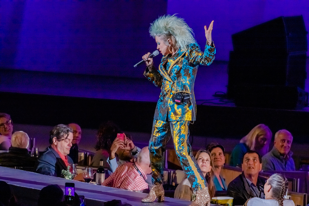 Cyndi Lauper Delivers Victorious Performance at The Hollywood Bowl