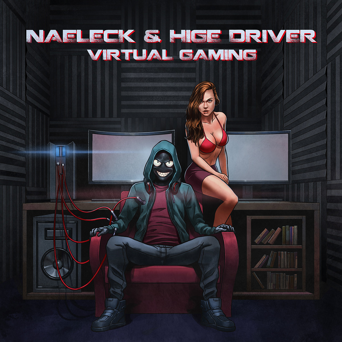 "Naeleck & Hige Driver Deliver Video Game Inspired ""Virtual Gaming"""