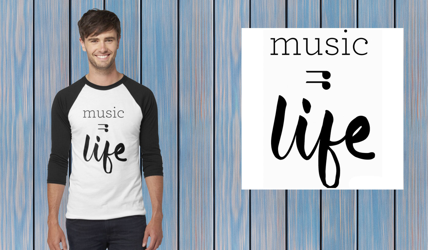 music is life tshirt